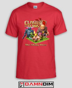 damndim.com : Clash of Clan Characters Tshirt