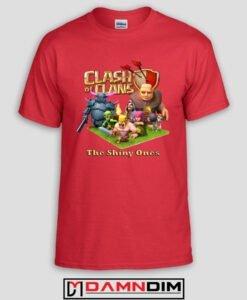 damndim.com : Clash of Clan Characters Tshirt
