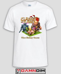 damndim.com : Clash of Clan Characters Adult Unisex Tshirt