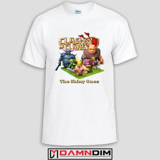damndim.com : Clash of Clan Characters Adult Unisex Tshirt
