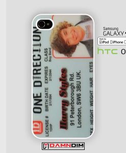 Harry Styles Id iphone case 4s/5s/5c/6/6plus/SE