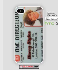 Harry Styles Id iphone case 4s/5s/5c/6/6plus/SE