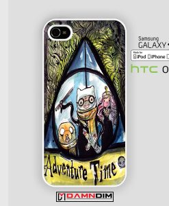 Harry Time-adventure time iphone case 4s/5s/5c/6/6plus/SE