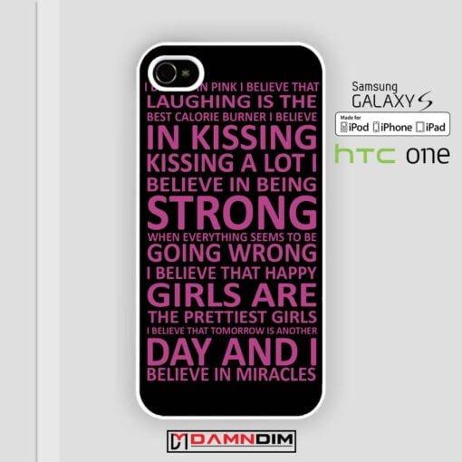 audrey hepburn quote purple iphone case 4s/5s/5c/6/6plus/SE