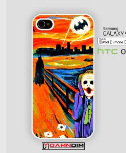 batman scream iphone case 4s/5s/5c/6/6plus/SE
