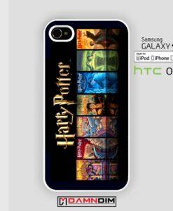 harry potter the book serial iphone case 4s/5s/5c/6/6plus/SE