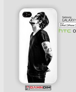 harry style black iphone case 4s/5s/5c/6/6plus/SE