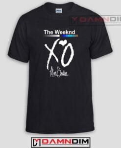 XO The Weeknd Custom Tshirts