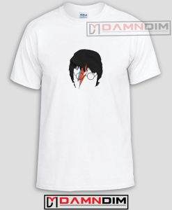 Harry Potter David Bowie Funny Graphic Tees
