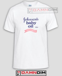 Johnson's Baby Oil Funny Graphic Tees