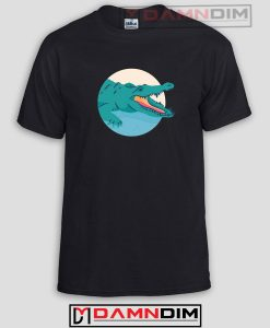Crocodile Logo Funny Graphic Tees