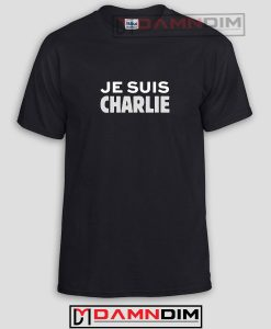 JE SUIS CHARLIE Funny Graphic Tees