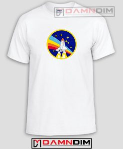 Nasa Rocket Logo Funny Graphic Tees
