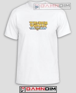 Wonder Woman Logo Funny Graphic Tees
