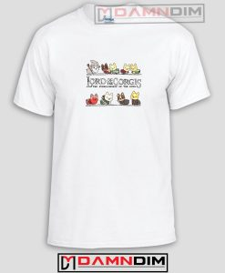 Lord Of The Corgis Funny Graphic Tees