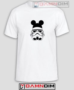 Stormtrooper Mickey Ears Funny Graphic Tees