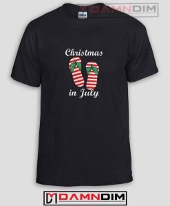 Christmas In July Funny Graphic Tees