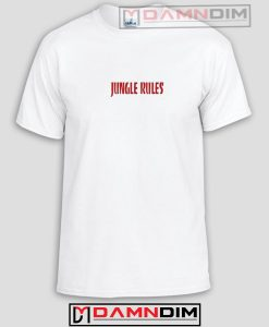 Jungle Rules Funny Graphic Tees