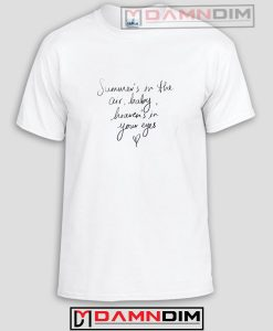 Summer's in the Air Baby Heaven's in Your Eyes Funny Graphic Tees
