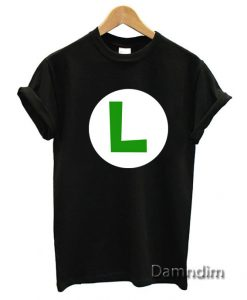 Luigi Symbol Funny Graphic Tees