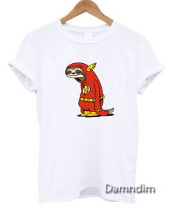 Sloth The Flash Funny Graphic Tees