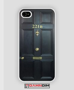 BBC Sherlock Benedict 221 B iPhone Case