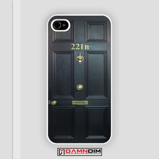 BBC Sherlock Benedict 221 B iPhone Case
