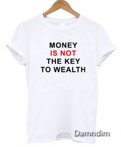 Beautiful Mind Money Is Not Funny Graphic Tees