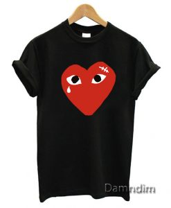 Coeur comme des garcons Funny Graphic Tees