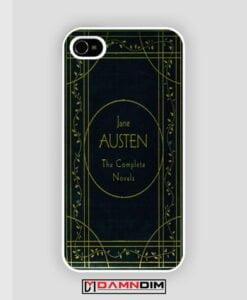 Cover Book Jane Austen iPhone Case