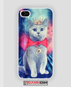 Queen Cat Nebula galaxy iPhone Case