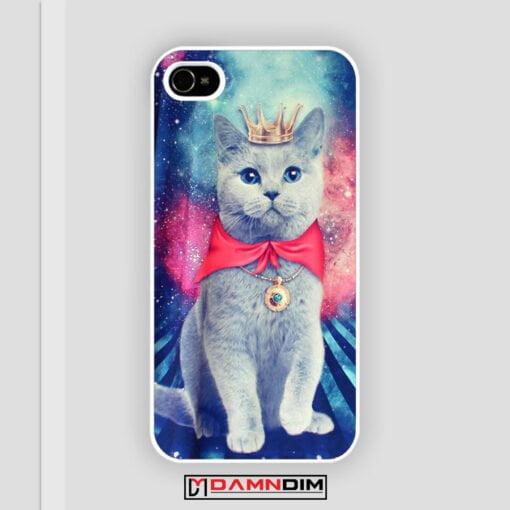 Queen Cat Nebula galaxy iPhone Case