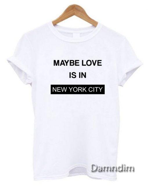 I Love NYC Funny Graphic Tees