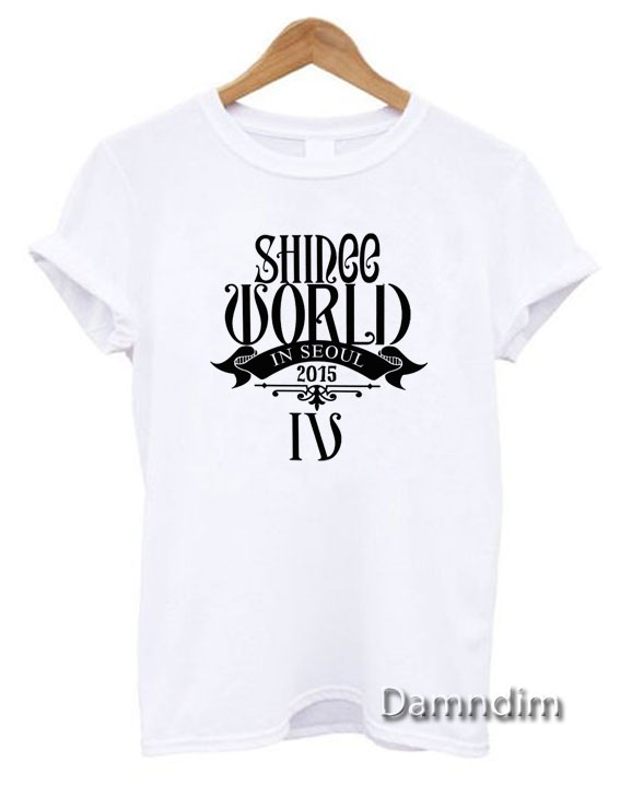 SHINEE WORLD JongHyun Funny Graphic Tees