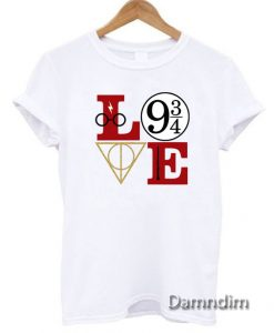 LOve Hary potter Funny Graphic Tees