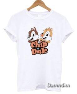 Vintage Disney Chip n Dale Funny Graphic Tees