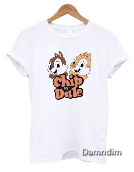 Vintage Disney Chip n Dale Funny Graphic Tees