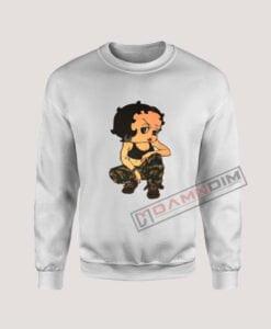 Sweatshirt Boop Soldier Cam