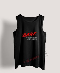 Tank Top D.A.R.E Drug Abuse Resistance Education