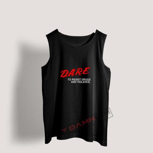 Tank Top D.A.R.E Drug Abuse Resistance Education