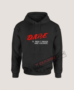 Hoodies D.A.R.E Drug Abuse Resistance Education