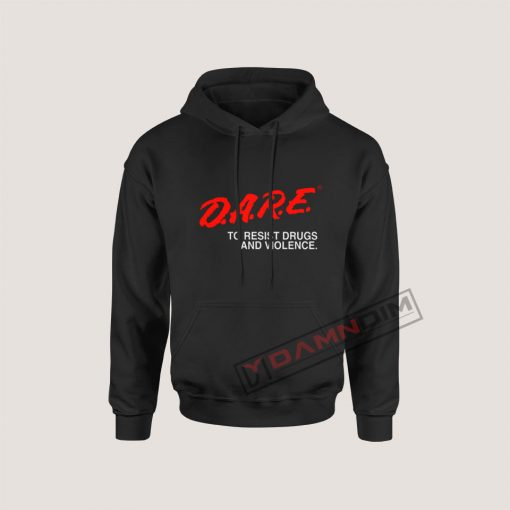 Hoodies D.A.R.E Drug Abuse Resistance Education