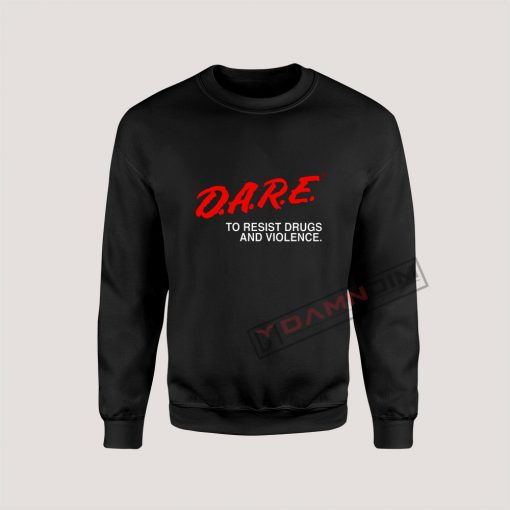 Sweatshirt D.A.R.E Drug Abuse Resistance Education