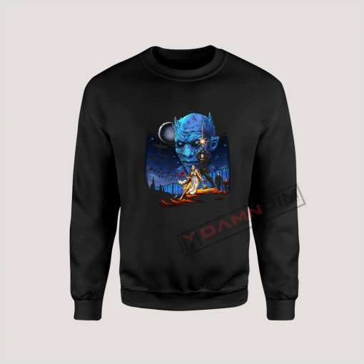 Sweatshirt Game of Thrones Star Wars