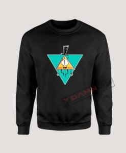 Sweatshirt Gravity Falls Bill Cipher