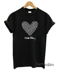 Keith Haring Funny Graphic Tees