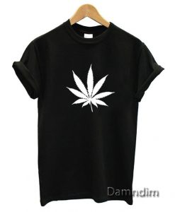 Marijuana Cannabis Leaf Funny Graphic Tees