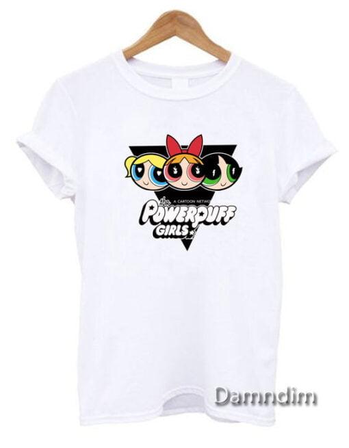 Powerpuff Girls Funny Graphic Tees