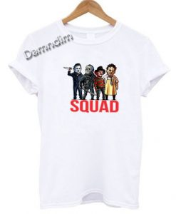 Horror Squad Funny Graphic Tees
