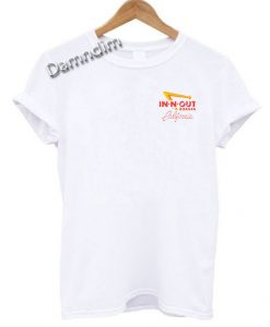 IN N OUT Burger California Pocket Funny Graphic Tees